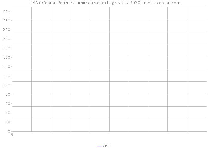 TIBAY Capital Partners Limited (Malta) Page visits 2020